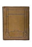 Livro muito velho da tampa (1880's) Foto de Stock