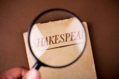 Livro por Shakespeare Imagem de Stock