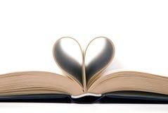 Livro romântico Fotografia de Stock