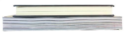 Livro sobre um compartimento foto de stock