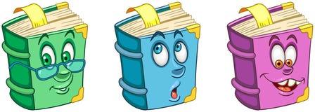 Livro textbook Conceito da educação escolar ilustração royalty free