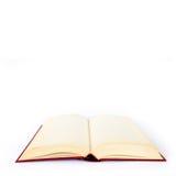 Livro vazio sobre Imagem de Stock