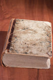 Livro velho da biblioteca Imagem de Stock Royalty Free
