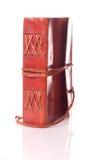 Livro de couro velho Fotos de Stock Royalty Free