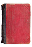 Livro velho do vermelho do vintage Fotografia de Stock Royalty Free