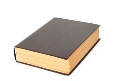 Livro velho isolado Imagens de Stock Royalty Free