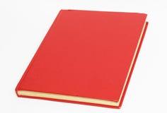 Livro vermelho Imagens de Stock Royalty Free