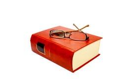 Livro vermelho Foto de Stock Royalty Free