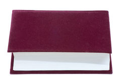 Livro vermelho Fotografia de Stock Royalty Free