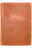 Livro vermelho antigo. Fotografia de Stock Royalty Free