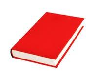 Livro vermelho isolado Imagem de Stock Royalty Free