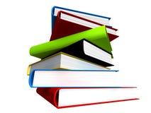livros 3d Imagem de Stock
