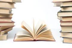 Livros abertos Fotografia de Stock