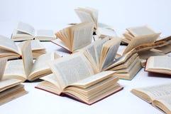 Livros abertos Foto de Stock Royalty Free