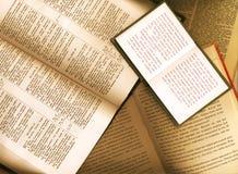 Livros abertos Imagem de Stock