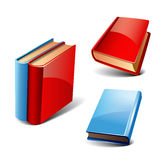 Livros ajustados Fotos de Stock