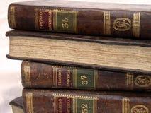 Livros antigos Foto de Stock