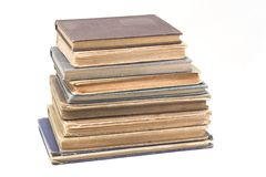 Livros antigos fotografia de stock