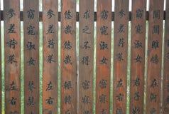 Livros antigos chineses Fotografia de Stock Royalty Free