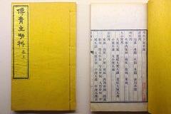 Livros antigos dos lombos fotografia de stock royalty free
