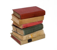 Livros antigos em uma pilha Imagem de Stock Royalty Free