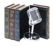 Livros audio Imagem de Stock
