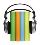Livros audio Fotografia de Stock