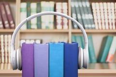 Livros audio Fotos de Stock