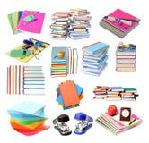 Livros azuis Imagem de Stock Royalty Free