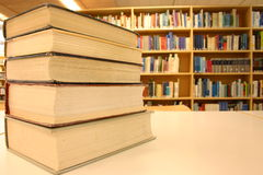 Livros - biblioteca - estudo Imagem de Stock Royalty Free