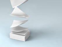 Livros Brancos Fotos de Stock Royalty Free