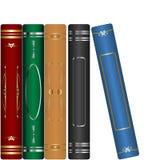 Livros clássicos ajustados ilustração stock