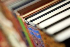 Livros coloridos foto de stock