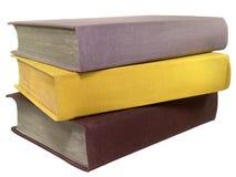 Livros coloridos velhos Fotografia de Stock Royalty Free