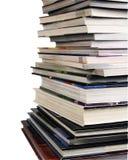 Livros com trajeto Fotos de Stock