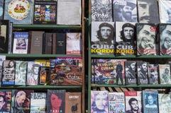 Livros cubanos em Havana Fotografia de Stock Royalty Free