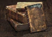 Livros 3 da antiguidade Imagem de Stock Royalty Free
