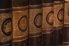 Livros 4 da antiguidade Fotos de Stock