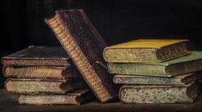 Livros 8 da antiguidade Imagem de Stock