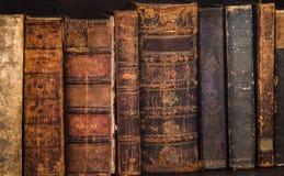 Livros 9 da antiguidade Fotos de Stock