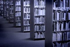 Livros da biblioteca imagem de stock