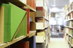 Livros da biblioteca Fotos de Stock Royalty Free