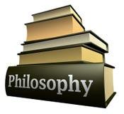 Livros da instrução - filosofia Fotografia de Stock Royalty Free