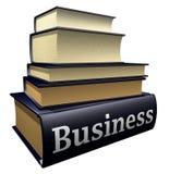 Livros da instrução - negócio Fotografia de Stock Royalty Free
