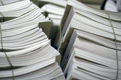 Livros de cliente Foto de Stock