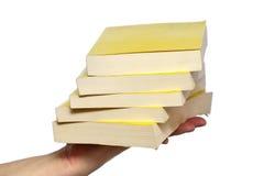 Livros de conhecimento Fotografia de Stock Royalty Free