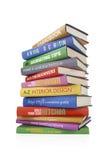 Livros de DIY ilustração stock