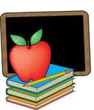 Livros de escola ilustração stock