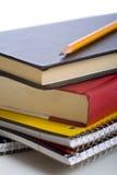 Livros de escola Fotos de Stock Royalty Free
