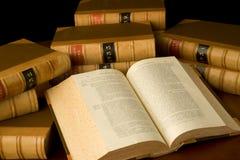 Livros de lei Foto de Stock